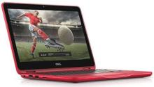 Dell Inspiron 11 3168 11.6-inch Laptop (Pentium N3710/4GB/500GB/Win10 Home with Pre-Loaded MS Office 2016/Integrated Graphics), Red