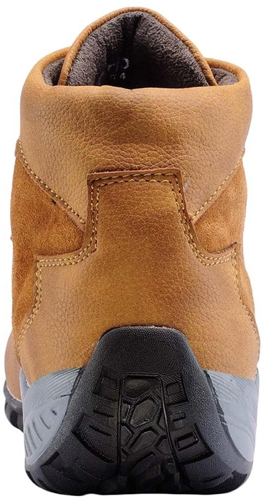 Deals4you Men's Synthetic Leather Tan Casual Shoes Boots, Casuals(Tan)
