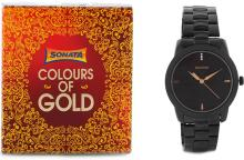 SonataNF7924NM01C Analog Watch - For Men