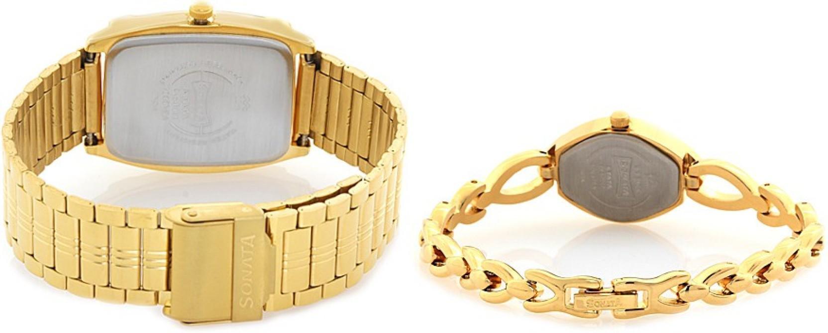 Sonata 70808069YM02C Watch - For Men