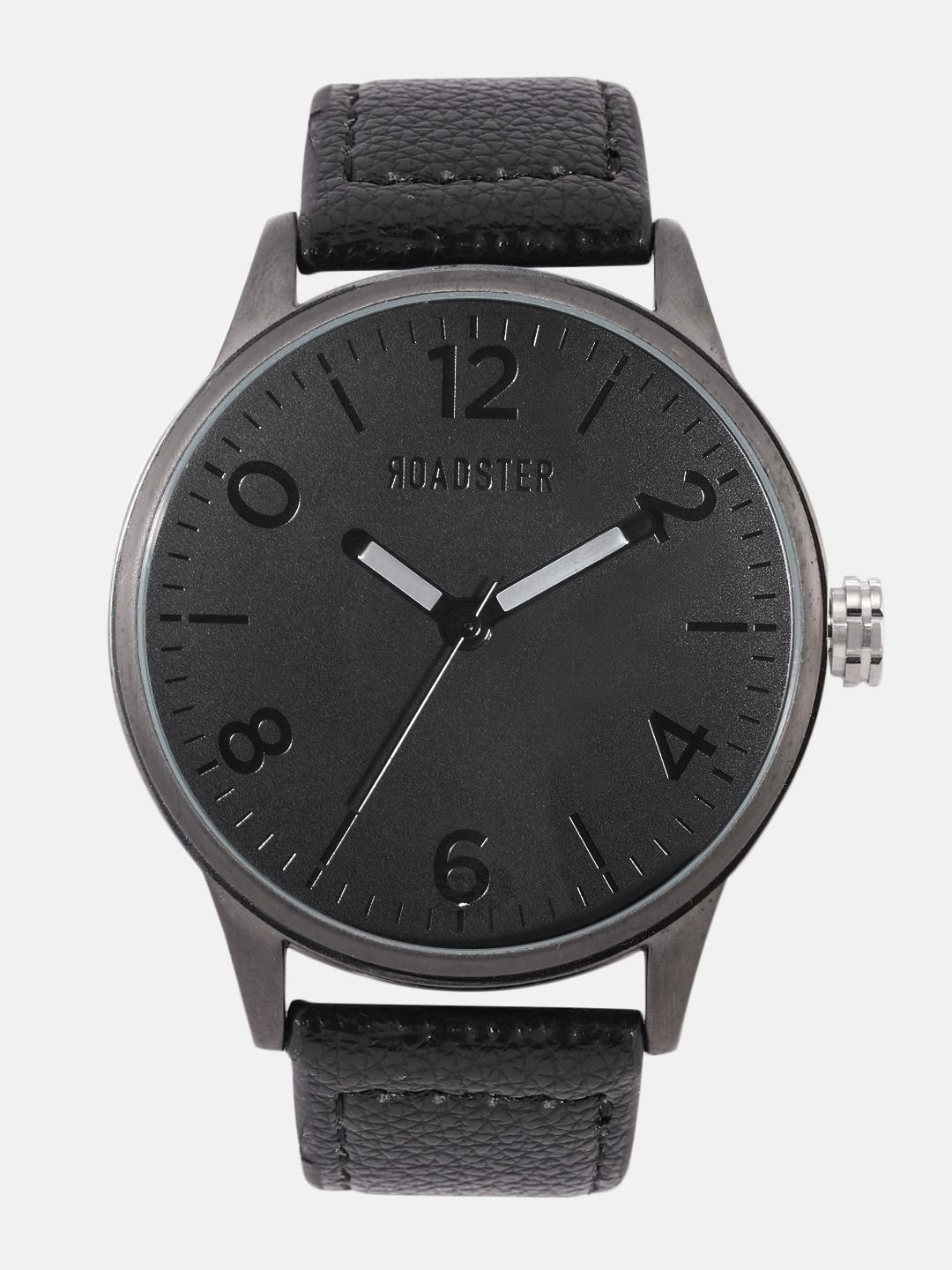 Roadster Men Black Analogue Watch MFB-PN-LW6147