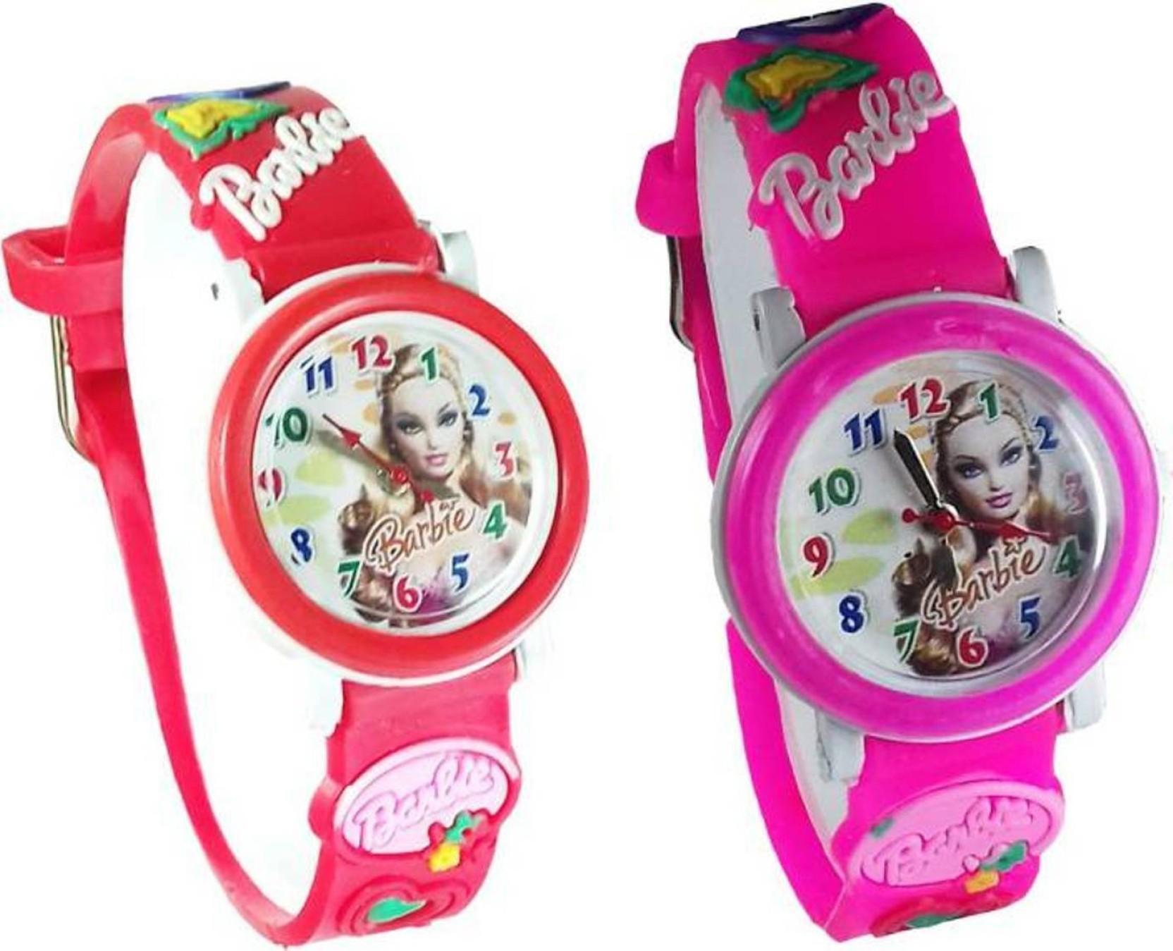 Devego Dev_Barbie Watch - For Boys & Girls