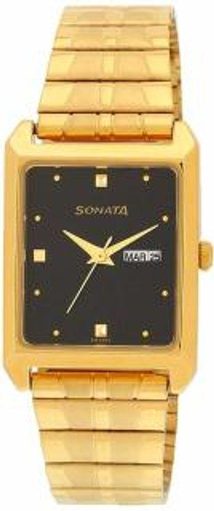 Sonata NF7007YM04 Analog Watch - For Men