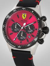 SCUDERIA FERRARI Men Red Analogue Watch 0830387_SF