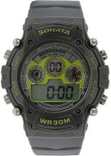 Sonata NH77006PP02J Digital Watch - For Men