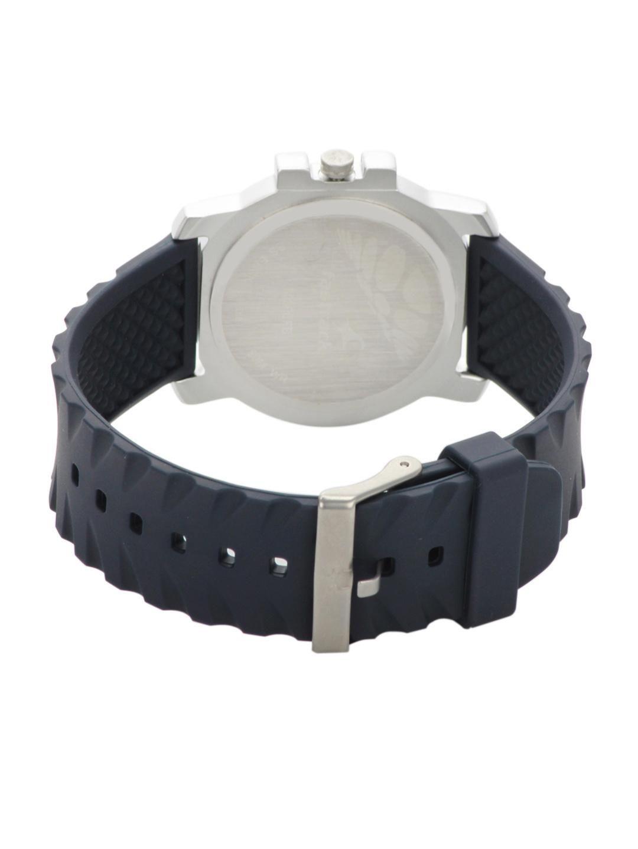 Fastrack Men Grey & Sliver-Toned Dial Watch NA3039sp01