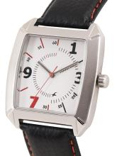 Fastrack Men White & Black Analogue Watch