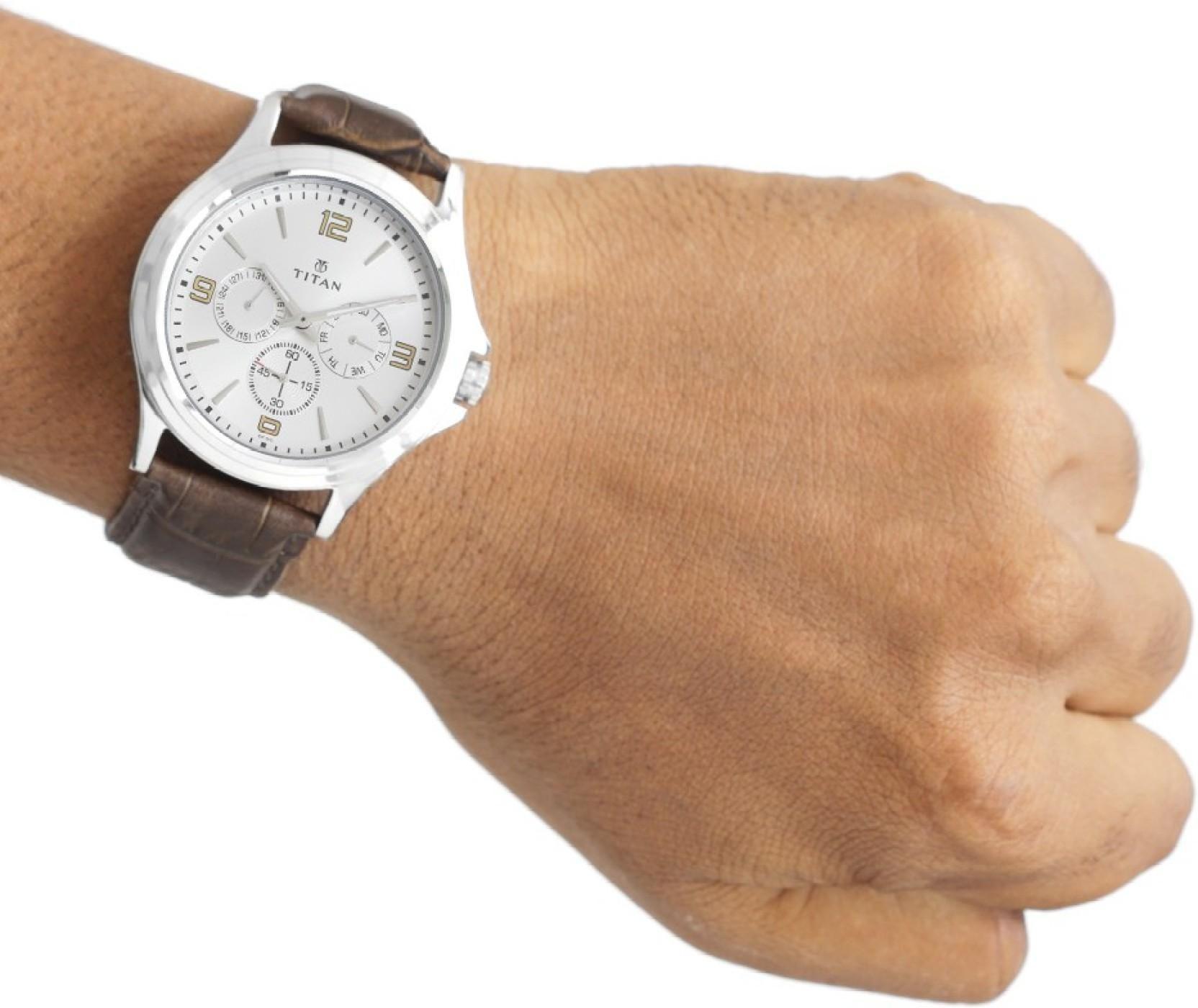 Titan 1698SL01 Watch - For Men