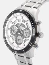 Timex Men White Skeleton Chronograph Watch TWEG15215