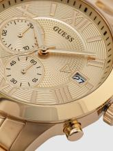 GUESS Men Gold-Toned Chronograph Watch W0668G4