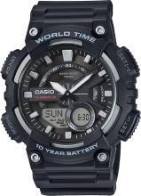 Casio AD207 AEQ-110W-1AVDF Analog-Digital Watch - For Men