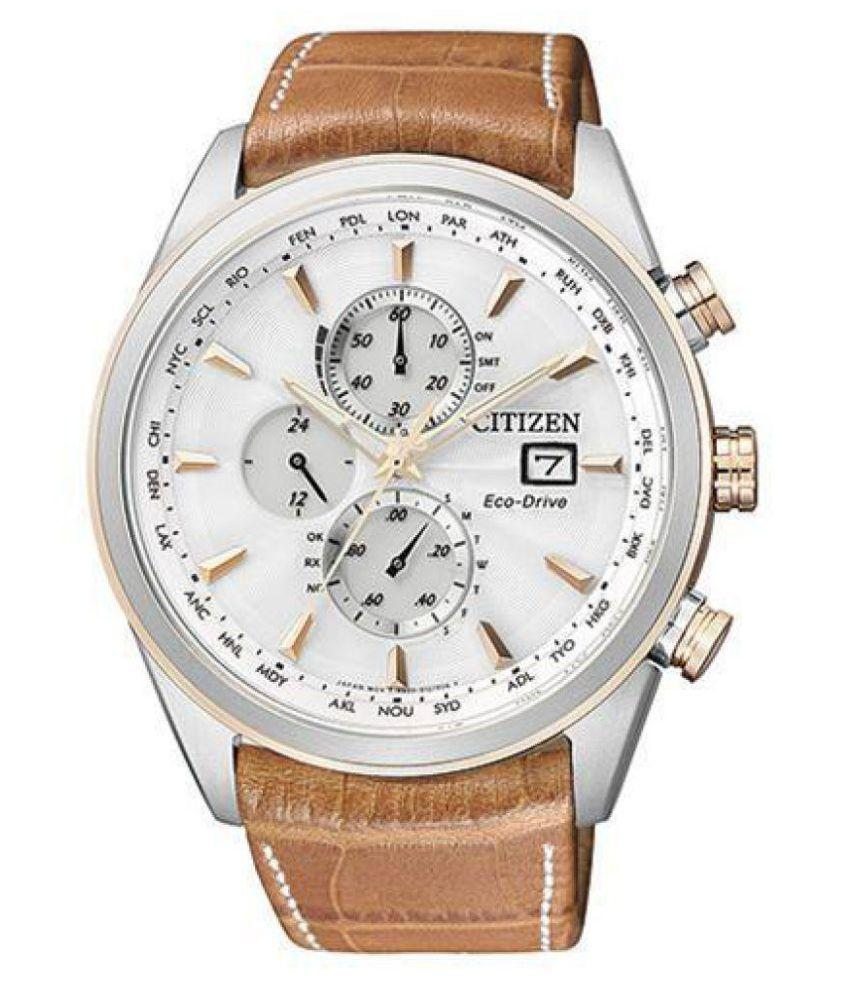 Citizen Brown Chronograph Analag Watch