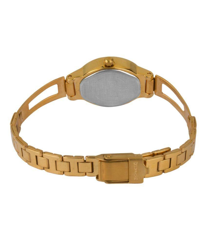 Sonata 8085YM02 Analog Women's Watch