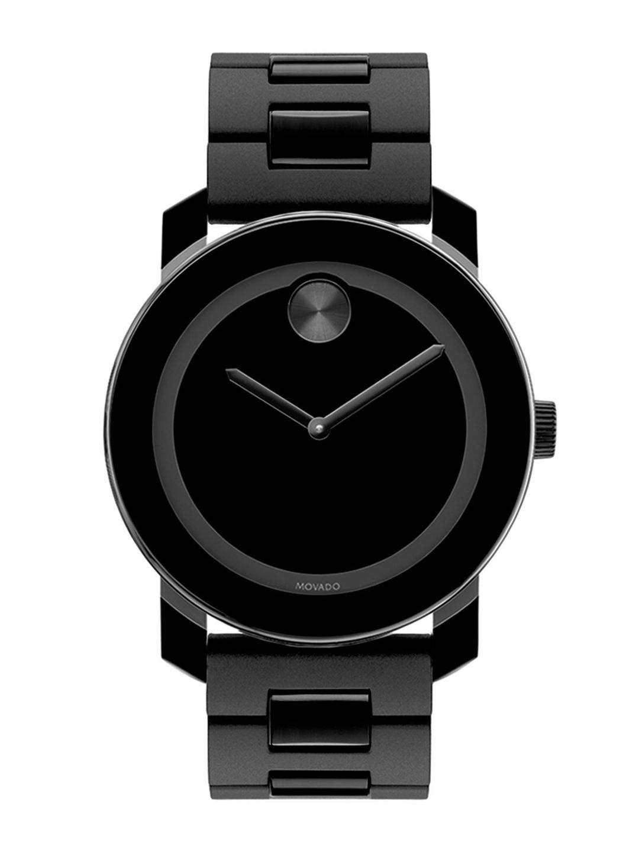 MOVADO Men Black Analogue Watch 3600047