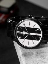 MINI Men Beige & Black Analogue Watch 160904_OR11