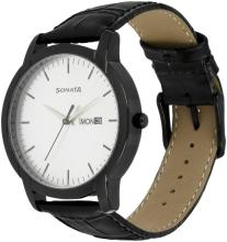 Sonata 77031nl03 Analog Watch - For Men