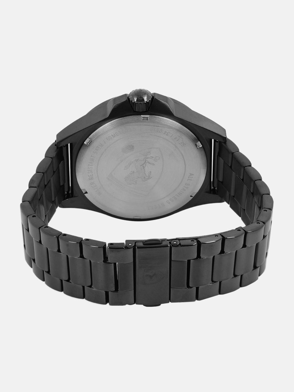 SCUDERIA FERRARI Men Black Analogue Watch 830602