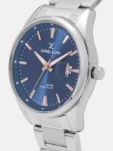 Daniel Klein Men Navy Blue Analogue Watch 12109-4