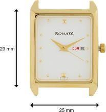 Sonata NF7007YM03 Analog Watch - For Men