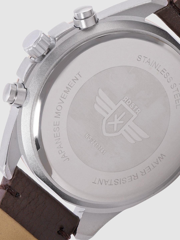 Roadster Men Gunmetal-Toned Analogue Watch MFB-PN-WTH-6191G
