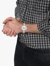 Daniel Klein Men Silver-Toned Analogue Watch DK11563-3