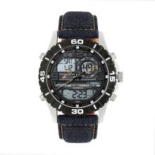 Fastrack 38035SL06 Denim Collection Analog-Digital Watch - For Men
