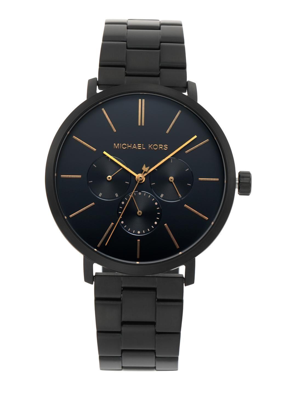 Michael Kors Men Black Analogue Watch MK8703