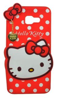 cheap for discount 8bedf d23e5 4 Season Cute Designer Hello Kitty Meow Soft Back Cover For SAMSUNG GALAXY  J5 PRIME - Red