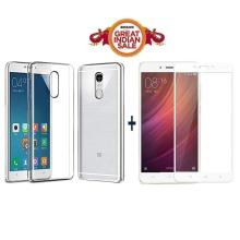 online store a95ae ef67a GOELECTRO Xiaomi Redmi Note 4 / Mi Note 4 / Redmi Note 4 (COMBO OFFER)  Original Sleek Premium Clear Soft Back Cover Case For RedMi Note 4 -( ...