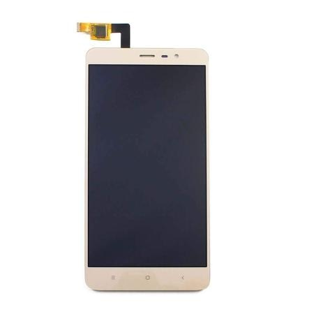 ORIGINAL (Tested) Xiaomi Redmi Note 3 With Frame IPS Lcd Display+Touch  Screen Digitizer Glass Combo [GOLD]