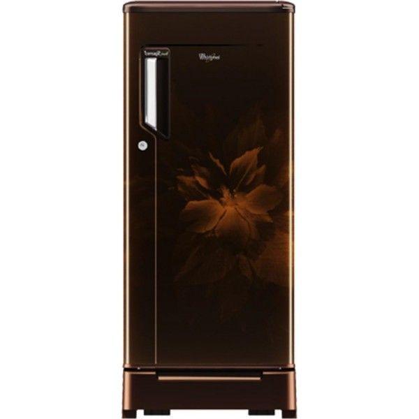 whirlpool 260 imfresh roy 5s 245 l single door gold regalia