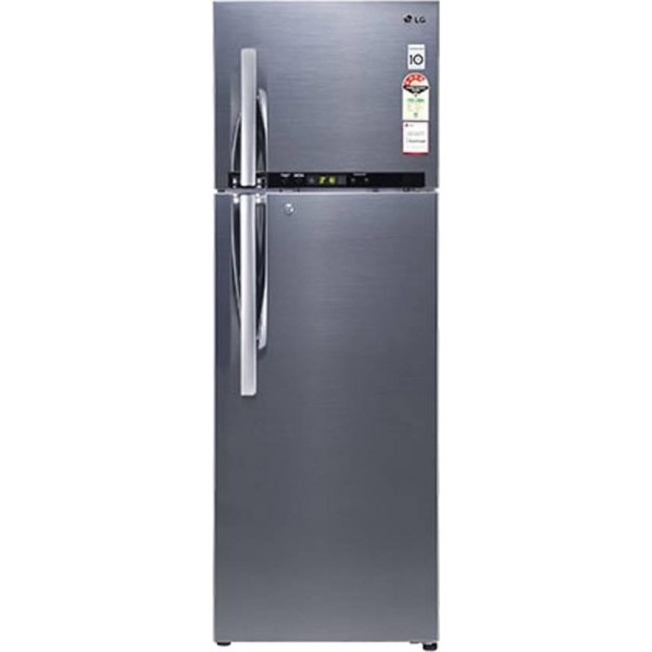 Lg Ref D 372 Rshm 335l Double Door Refrigerator Nobel
