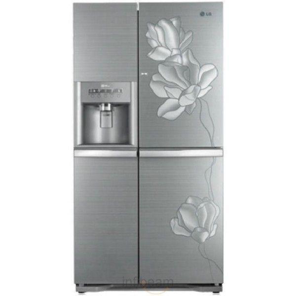 Lg Gr J287pghv Side By Side Refrigerator 800 Litres