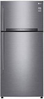 LG 516 L Frost Free Double Door 3 Star Refrigerator (Platinum Silver III, GN-H602HLHU)