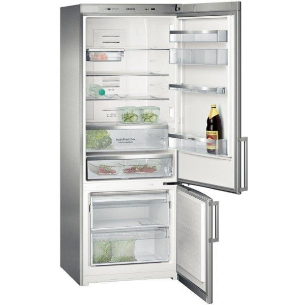 Bon Siemens KG57NAI50I Bottom Freezer Frost Free Double Door Refrigerator (505  Ltrs, Stainless