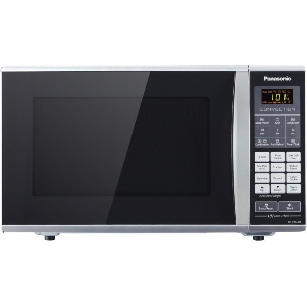 Panasonic 27 Litres Nn Ct644m Convection Microwave Ovenblack And Silver