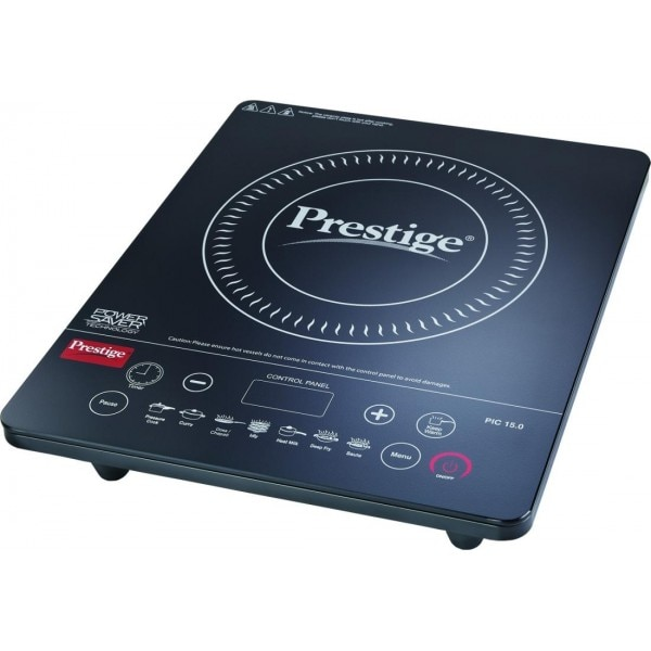 Elegant Prestige Pic 15 Induction Cooktop (Black, Touch Panel)