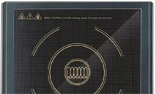 Bajaj Majesty ICX 3 1400-Watt Induction Cooker (Black) Induction Cooktop(Black, Touch Panel)