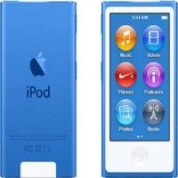 Apple iPod Nano 7th Generation, 2015 Edition, A1446 16 जीबी (Blue, 2.5 Display)