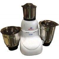 Bajaj Glory 500 W Mixer Grinder (White, 3 Jars)
