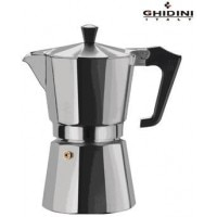Ghidini Aluminium 9 Cups Capacity Coffee Maker