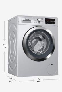 Bosch WAT2846SIN 8 Kg Front Loading Fully Automatic Washing Machine 1400 rpm (Silver)