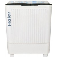 Haier XPB 72-715S 7.2 Kg Semi Automatic Top Loading Washing Machine White