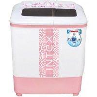 Intex 6.5 Kg WMS65ST Semi Automatic Top Load Washing MachinePink