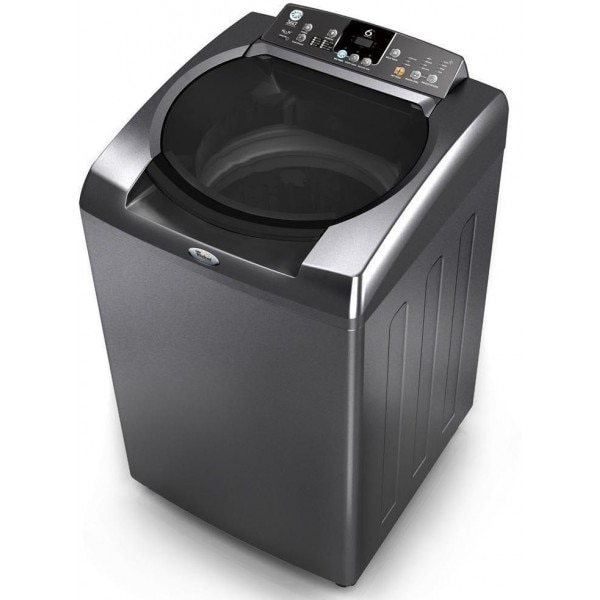 whirlpool 8 kg fully automatic top load washing machine 360h graphit 360 bloom wash price in. Black Bedroom Furniture Sets. Home Design Ideas