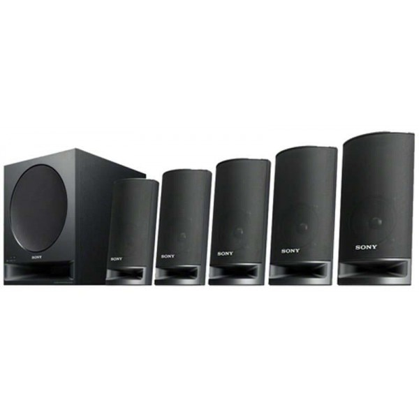 Sony Ms5500 5 1 Channel Speakers Black Price In India With