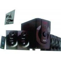Ricardo 5.1 Channel Home Theater Speaker System with USB , MMC & FM Radio 2222MU