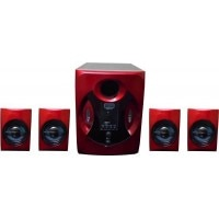 Snecom GE908 4.1 Channel Home Theatre System Red