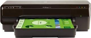 HP Officejet 7110 Wide Format Printer Single Function Wireless Color Printer(Black, Ink Cartridge)