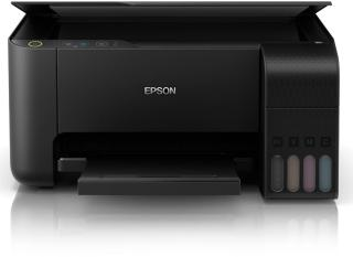 Epson L3151 Multi-function Wireless Color Printer(Black, Refillable Ink Tank)
